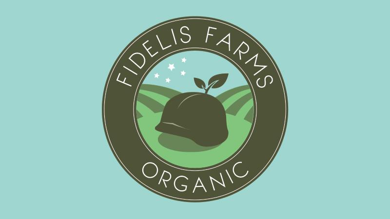 fidelis farms, logo, a creative feeling